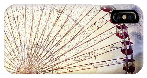 The Ferris Wheel At Navy Pier IPhone Case
