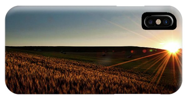 IPhone Case featuring the photograph The Field Of Gold by Mark Dodd