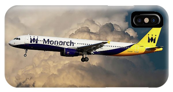 Monarch iPhone Case - The Final Flight by Smart Aviation