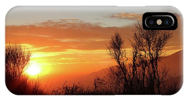 The Fire Of Sunset IPhone Case
