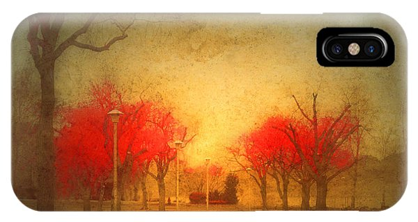 The Fire Trees IPhone Case