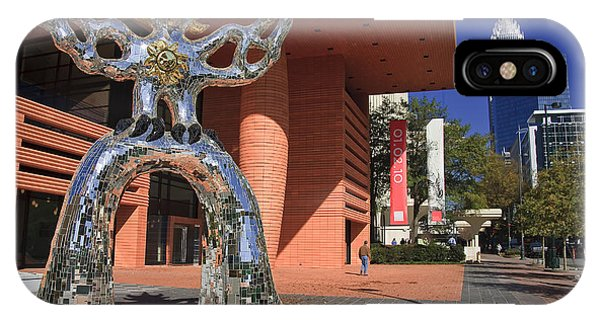 The Firebird At The Bechtler Museum In Charlotte IPhone Case
