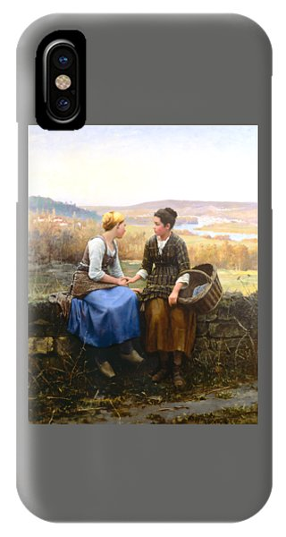 IPhone Case featuring the painting The First Grief by Celestial Images