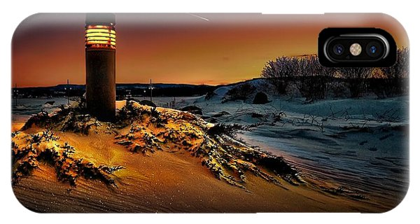 The First Light At Sunset IPhone Case