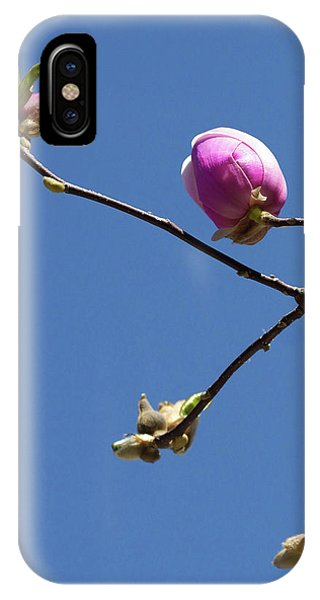 The First To Bloom IPhone Case