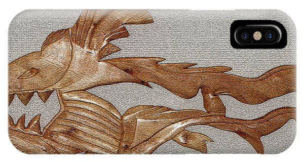 The Fish Skeleton IPhone Case