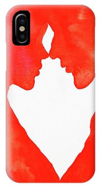 The Flame Of Love IPhone Case