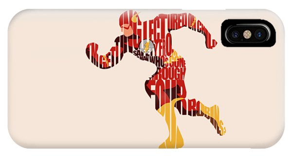 Vector iPhone Case - The Flash by Inspirowl Design
