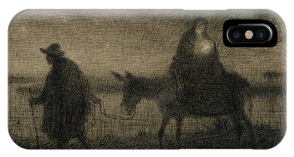 The Flight Into Egypt IPhone Case
