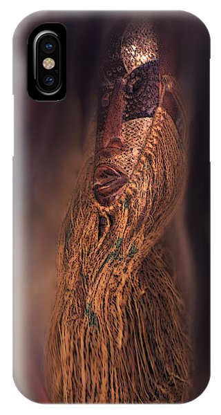 IPhone Case featuring the photograph The Floating Mask by Wayne King