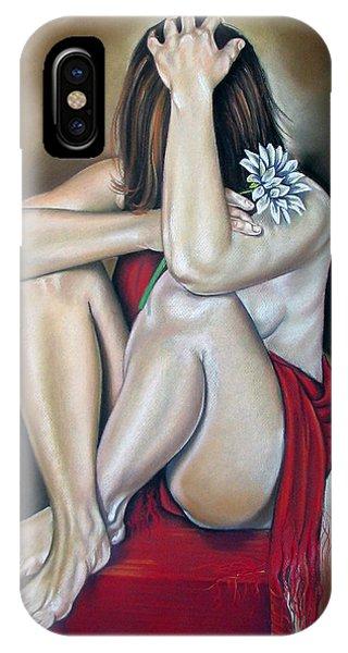 The Flower Phone Case by Ilse Kleyn