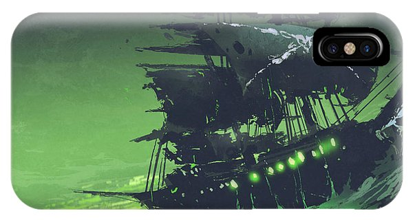 The Flying Dutchman IPhone Case