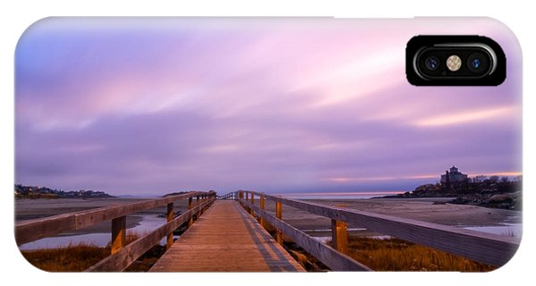The Footbridge Good Harbor Beach IPhone Case