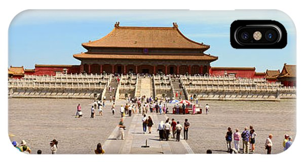 Forbidden City iPhone Case - The Forbidden City - Tai He Dian Hall by Panoramic Images