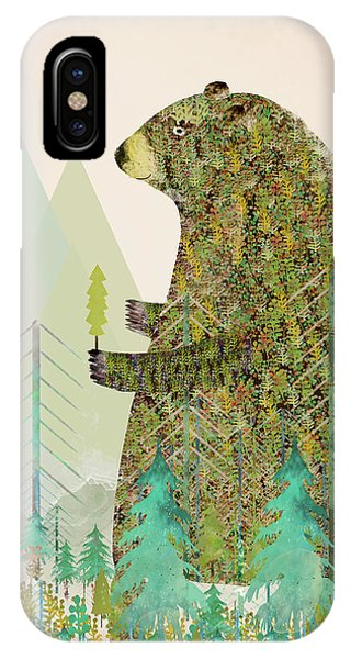 The Forest Keeper IPhone Case