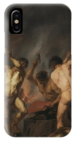 Anvil iPhone Case - The Forge Of Vulcan by Theodoor van Thulden