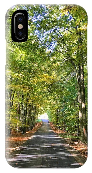 iPhone Case - Road In The Forrest In Austria by Chris Feichtner