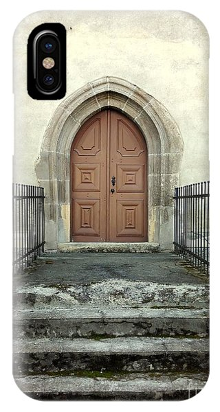 The Fortress Church's Side Door  IPhone Case