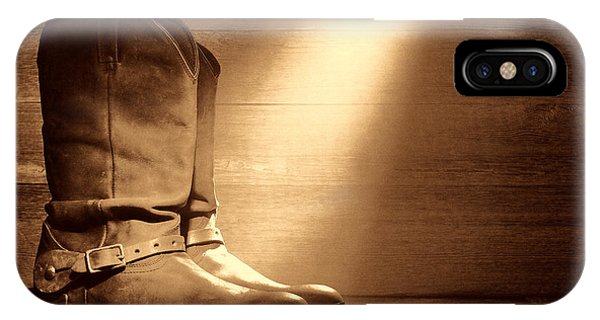 The Found Boots IPhone Case