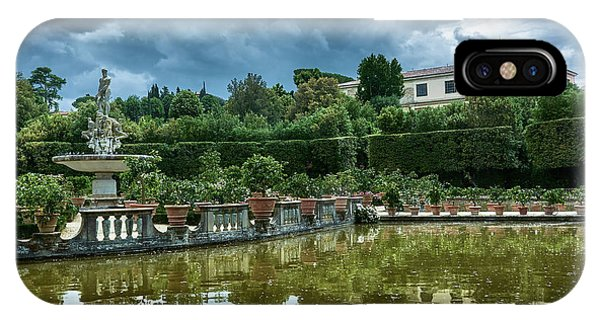 The Fountain Of The Ocean At The Boboli Gardens IPhone Case