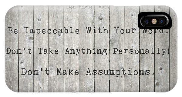 The Four Agreements 12 IPhone Case