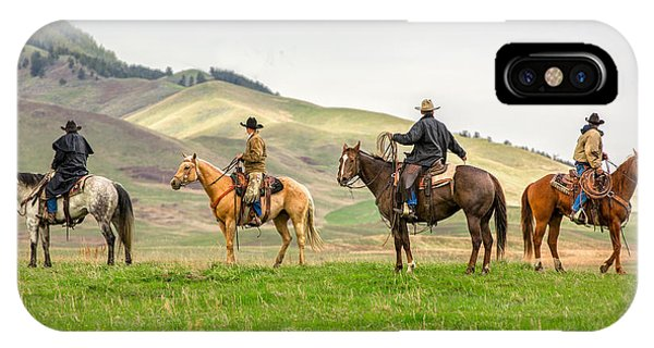 Horseman iPhone Case - The Four Horseman by Todd Klassy