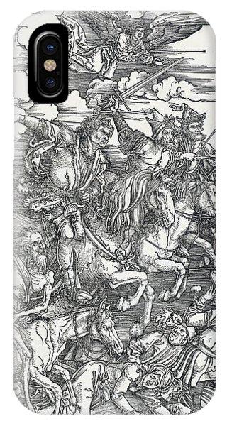 The Four Horsemen IPhone Case