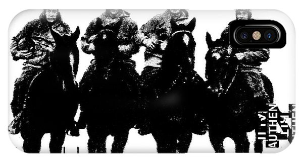 The Four Horsemen Of Notre Dame IPhone Case