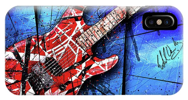 The Frankenstrat Vii Cropped IPhone Case