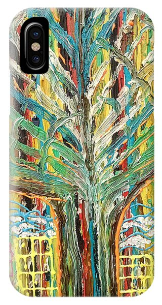 The Freetown Cotton Tree - Abstract Impression IPhone Case
