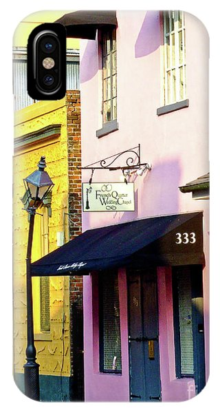 The French Quarter Wedding Chapel IPhone Case