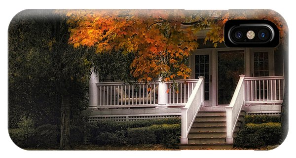 Porches iPhone Case - The Front Porch by Jessica Jenney