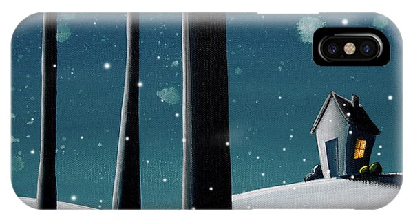 Night iPhone Case - The Frost by Cindy Thornton