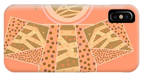 The Art Of Gandy iPhone Case - The Full Body Of Finding Solace  by Joan Ellen Gandy of The Art Of Gandy