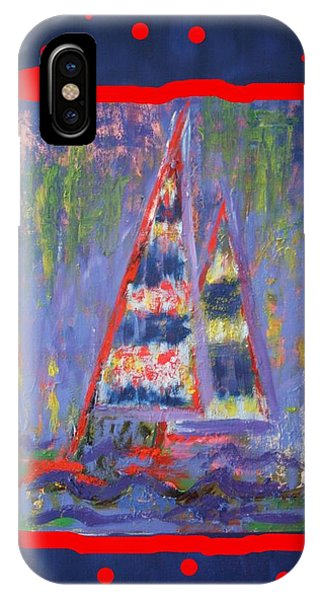 The Fun Of Sailing IPhone Case