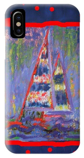The Fun Of Sailing IPhone Case