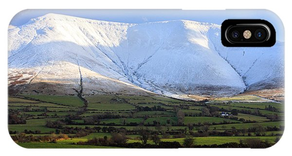 The Galtees  Ireland's Tallest Inland Mountains Phone Case by Pierre Leclerc Photography