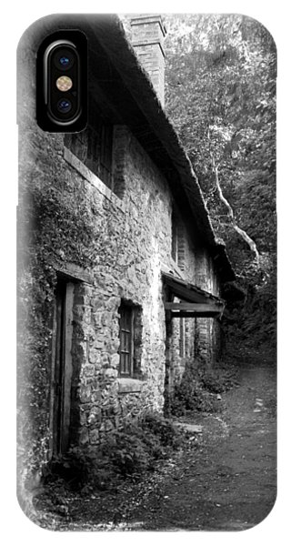 IPhone Case featuring the photograph The Game Keepers Cottage by Michael Hope