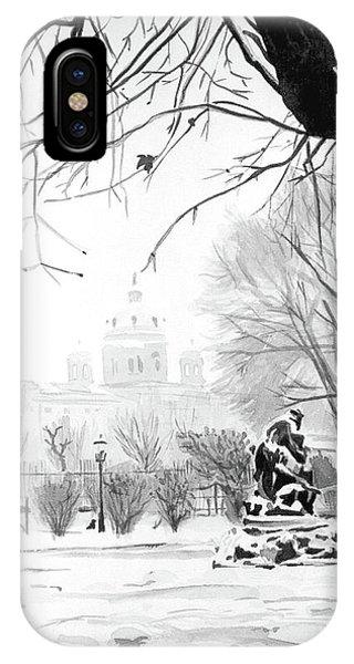 iPhone Case - The Garden by Johannes Margreiter