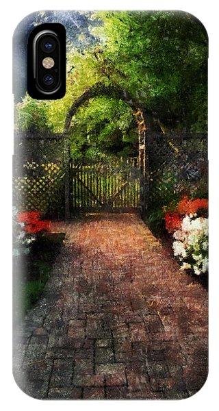 The Garden Path IPhone Case
