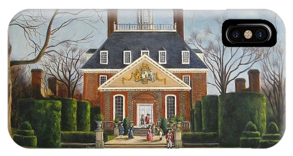 The Gardens Of The Governor's Palace IPhone Case
