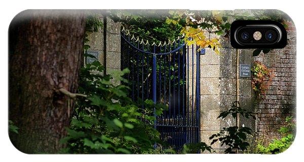 IPhone Case featuring the photograph The Gate by Jeremy Lavender Photography