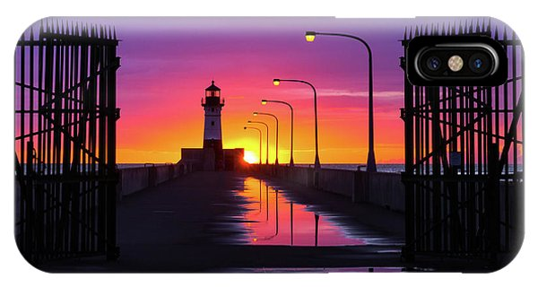 The Gates Of Dawn IPhone Case