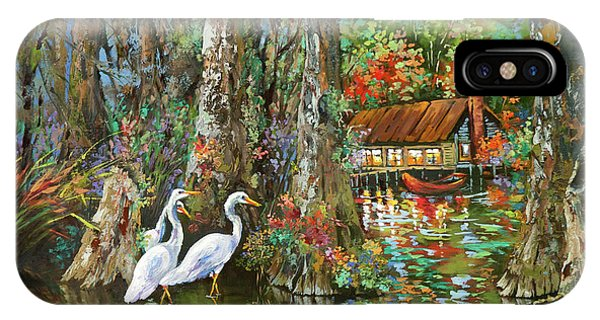 The Gathering - Louisiana Swamp Life IPhone Case