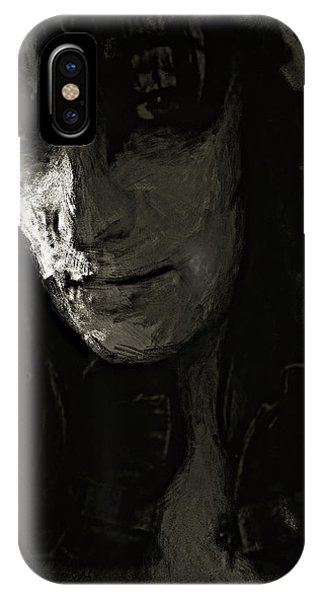 IPhone Case featuring the photograph The Gaze by Jeff Gettis
