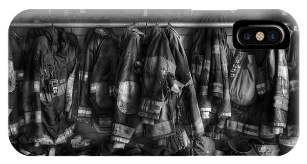The Gear Of Heroes - Firemen - Fire Station IPhone Case