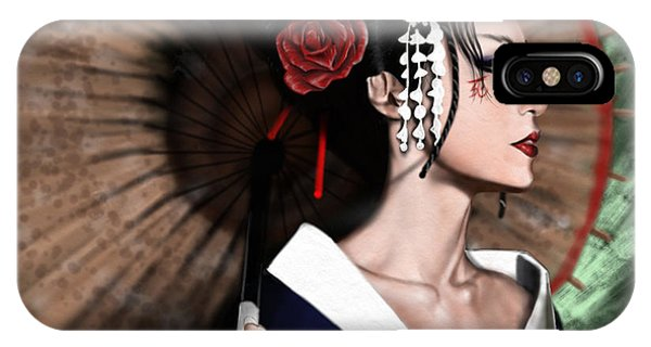 The Geisha IPhone Case