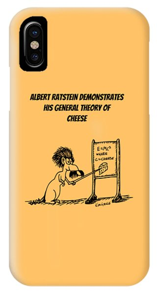 The General Theory Of Cheese IPhone Case
