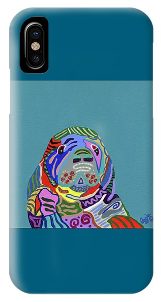 The Gentle Sea Cow IPhone Case