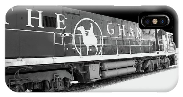 The Ghan Bw IPhone Case